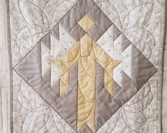 Guardian Angel Quilted Wall Hanging