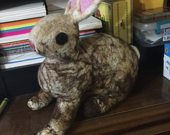 Lifesized Needle felted bunny