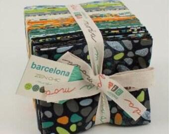 Moda-Barcelona, by Zen Chick Fat Quarter Bundle