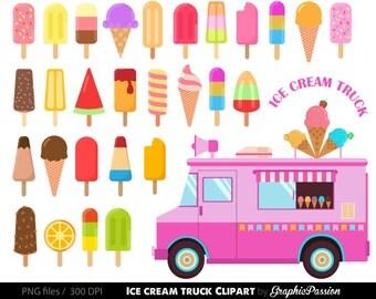 Ice Cream Clipart Sweet Treat Bakery Clip Art Dessert Truck Cilpart