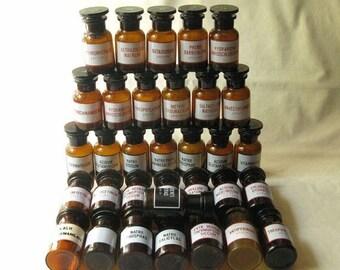Vintage Amber Glass Bottles, Wholesale Bottles. Glass Bottles, Antique Brown Bottles, Bottles with Caps, Bottles Collection