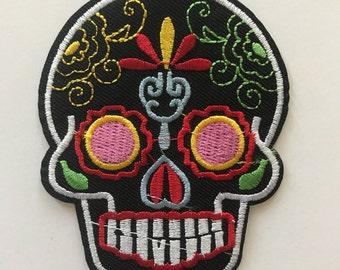 Sugar skull patch