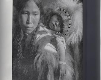 Canvas 24x36; Havasupai Girl Wearing Beads And Cape, Half Length, Seated, 1900 Nara 520078