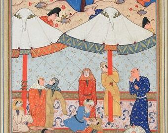 16x24 Poster; Layla And Majnun Described In The Third Book Of Nizami'S Khamsah (