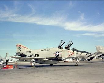16x24 Poster; F-4S Phantom Ii F-4 Squadron Vmfa-235 Death Angels