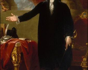 16x24 Poster; President George Washington Gilbert Stuart, 1797