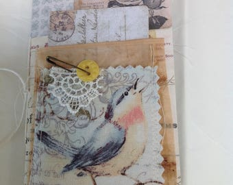 Small Travelers Notebook Style Journal
