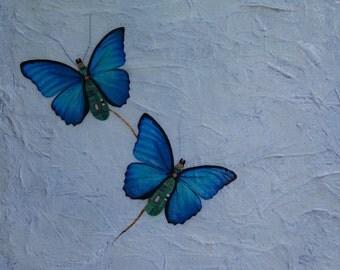 """Fantasie schilderij """"Impaired Flight' /  Fantasy painting 'Impaired Flight'"""