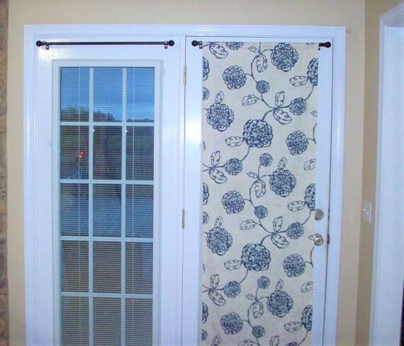 door panels custom foyer rod pocket front door entry door. Black Bedroom Furniture Sets. Home Design Ideas
