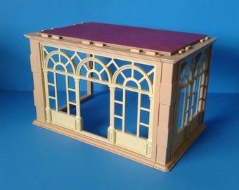 "Playmobil Victorian Mansion "" Sunroom Atrium Extension ""  5300 Series HTF RARE"