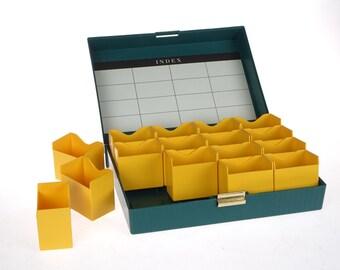 File Box - Kodaslide - vintage Kodak - Contains 400 slides