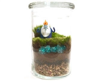 Adventure Time Inspired Terrarium // Mini Ice King