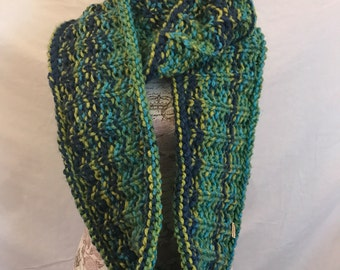 The Seaglass infinity scarf