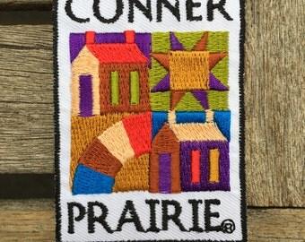 Conner Prairie Nebraska Vintage Souvenir Travel Patch from Focus on Souvenirs