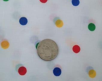 3 Yards Cotton Polka Dot Fabric