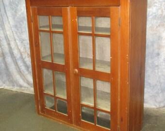 Pantry Cabinet Wood Bookshelves Backbar Display Case Pharmacy Hardware Counter