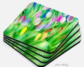 Coaster Set|Gifts| Home Goods|Flower|Art