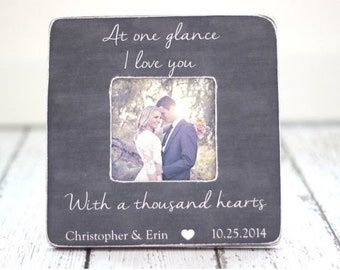 Mother's Day Gift for Wife Romantic Mothers Day Gift from Husband Personalized Picture Frame