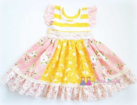 baby girls dress spring party dress ruffle dress toddler dresses