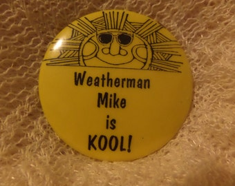 Vintage Braces are Beautiful Clowns made me smile Love Asphalt Amigo Weatherman Mike buttons or pins