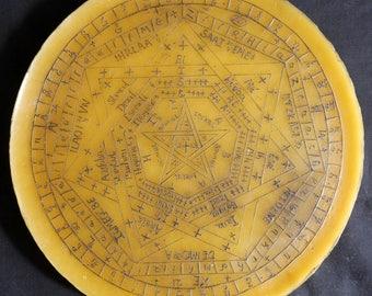 Sigillum Dei Amaeth | Enochian Magick Wax Sigil | Enochian Seal