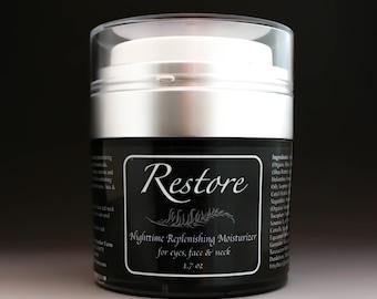 New Restore Nighttime Replenishing Moisturizer