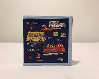 New Fabric Book BUSYTOWN