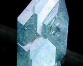 Blue Aqua Aura Faden Quartz, Crystals for Sale