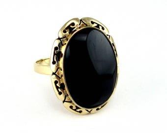 Antique Onyx Ring