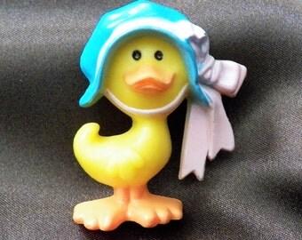 1970's RARE Vintage Hallmark Easter Duck Lapel Pin