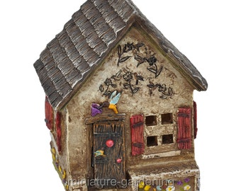 Hummingbird Hideaway for Miniature Garden, Fairy Garden