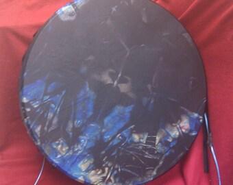 """20"""" Shamanic Elk skin Midnight Drum"""