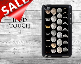 Full Moon Phases - SALE iPod Touch 4G case - Night sky Moons phone iPod Touch case,  iPod cover