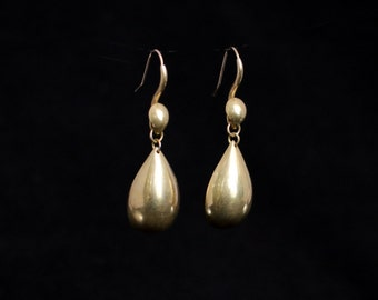 TOGATA earrings : modern bronze earrings