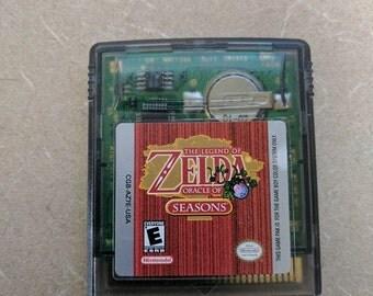 Zelda Oracle of Seasons Gameboy Great shape Works Great