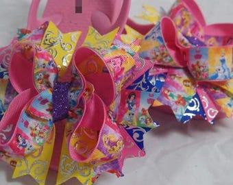 Princess Hairbow Flip Flops