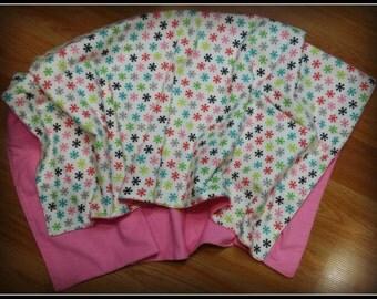 Sale! Snowflake Receiving Blanket