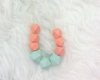 Toddler Necklace Teething Necklace Childrens Jewelery Teether Fun Necklace Kids Necklace Child Jewelry