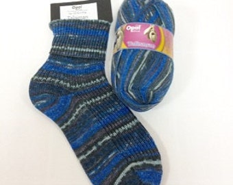 Sockyarn 4ply talisman range blue black grey oatmeal yarn 425meters 100g per ball quality knitting yarn for jumpers and socks Opal 9276