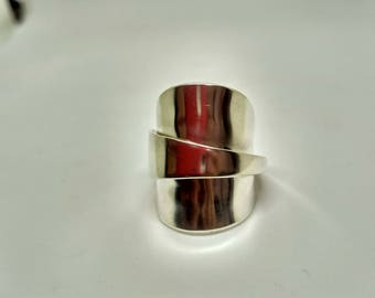 Silver Spoon Ring S012