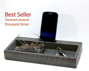 Docking Station, charging station, iPhone Stand, father gift, gift for him, mens, For Dad, Birthday Gift, father, wedding gift, shower gift