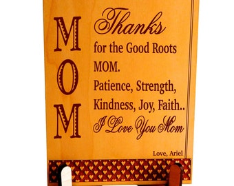 Mother's Day Gift, Mum Appreciation Gift, Mom's Christmas Gift, Gift to Mum, Mom's Birthday Gift, Mummy's Plaque, Mum's Special Gift PLM019