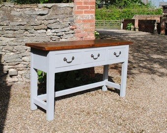 Sideboard Handmade Bespoke Painted any colour  Dove and Grey