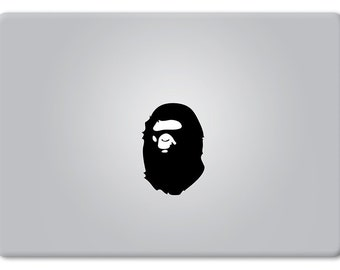 Bape Ape - Apple Macbook Laptop Vinyl Sticker Decal