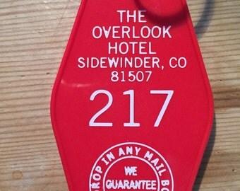 ROOM 217 Overlook Hotel Keytag -