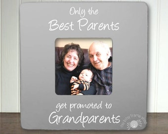 Grandparents Promotion Frame New Grandparents Frame Grandparent to be Frame Grandma Frame Only the Best Parents Get Promoted IB5FSMAG