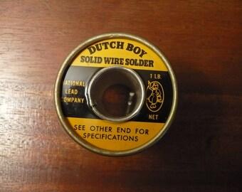 Dutch Boy Solid Wire Solder