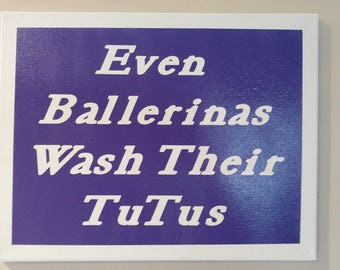 Lovely Bathroom Canvas, Signs With Sayings, Kids Bathroom Sign, Funny Kids Bathroom  Decor,