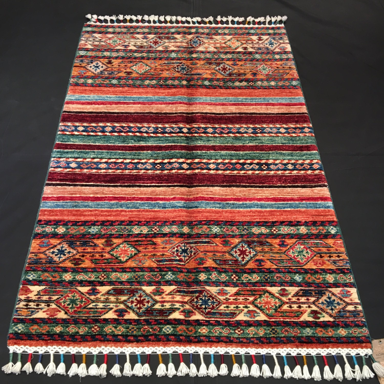Colorful Shirvan Rug Caucasian Rug 2'8'' X