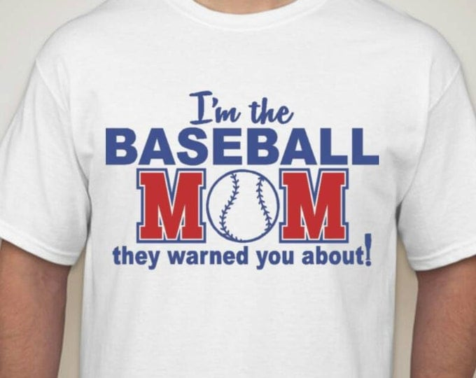 I'm That Baseball Mom